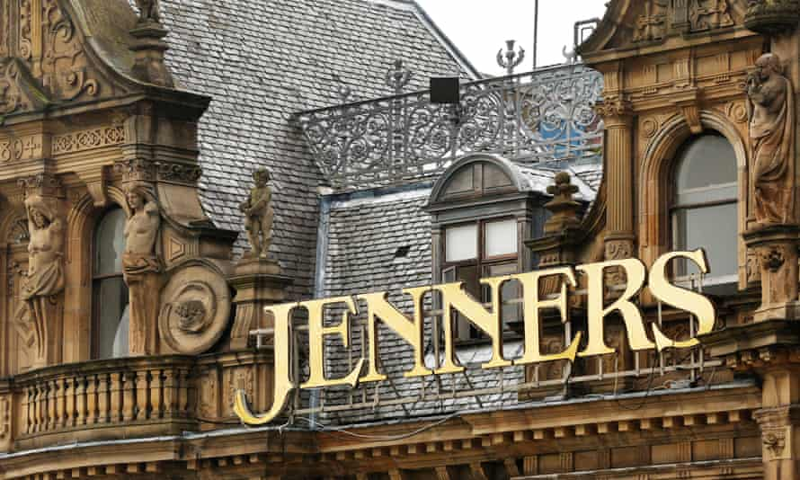 Jenners department store in Edinburgh