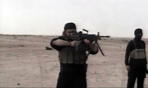 Abu Musab Al-Zarqawi, the leader of an al-Qaida affiliate in Iraq, used video to promote his reputation for brute savagery. He was killed by US forces in 2006.