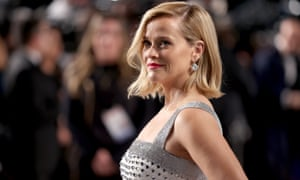 Reese Witherspoon at Vanity Fair's Oscar party in Beverly Hills, California.