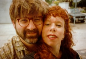 'He printed my comics. That's how it started': Simpsons creator Matt Groening with Lynda Barry.