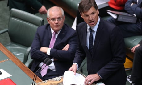 Angus Taylor says Labor's questions about land he part-owns are 'grubby smear' – as it happened