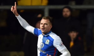 Jordan Rhodes, who has moved to Middlesbrough, hit 85 goals in 169 appearances for Blackburn.