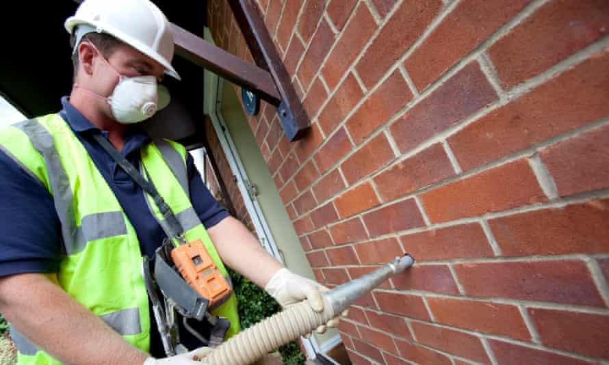 Measures to insulate the existing housing stock were scrapped by the government.