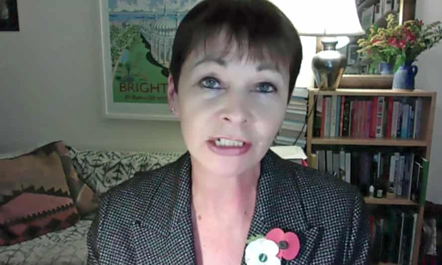 Caroline Lucas is one of the co-chairs of the cross-party environmental justice commission.