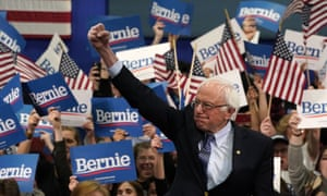 By Wednesday morning, a triumphant Sanders had secured 26% of the reported votes, with Pete Buttigieg on 24%.