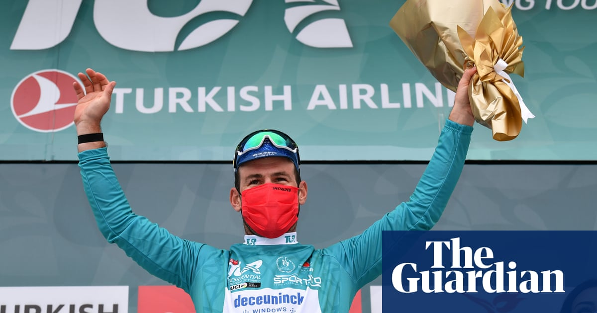 Mark Cavendish records third straight win in brilliant week at Tour of Turkey