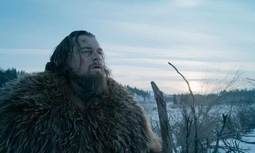 Leo slips his most memorable film moments into The Revenant as easily as a man cocooned in a horse's carcass.