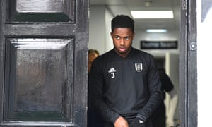 Ryan Sessegnon before Fulham's game against Everton in April.