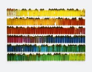 Cigarette lighters Stuart Haygarth photo arrangement