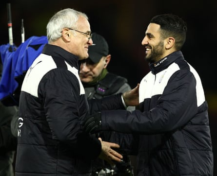 Leicester City's manager, Claudio Ranieri, and Riyad Mahrez have helped conjure what could be the most unlikely triumph in the history of team sport.