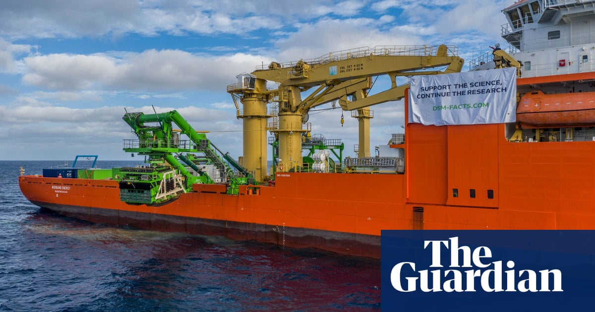 Conservationists call for urgent ban on deep-sea mining