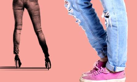 Goodbye, skinny jeans …