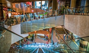 Langham Place, like many Hong Kong malls, is deliberately placed to capture natural pedestrian flows.