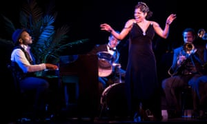 Brandon Victor Dixon and Audra McDonald in Shuffle Along.