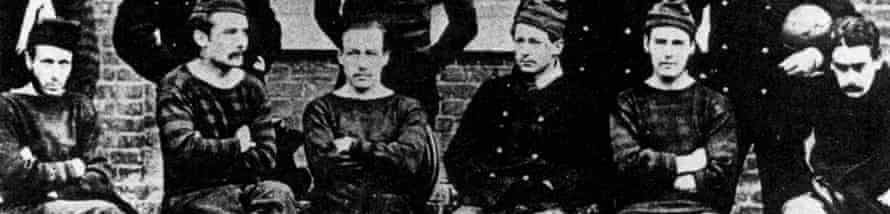 The Royal Engineers, FA Cup winners, 16 March 1872.