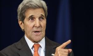 John Kerry is planning a trip to Tel Aviv, Jerusalem and Ramallah.