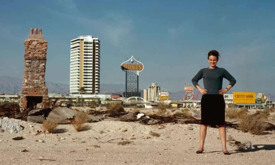 Recognition at last … Denise Scott Brown in Las Vegas in 1966.