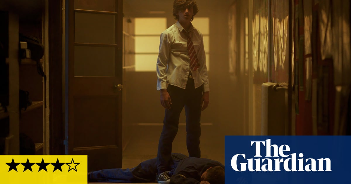 Schools Out Forever review – gloriously gory adaptation of YA sci-fi horror
