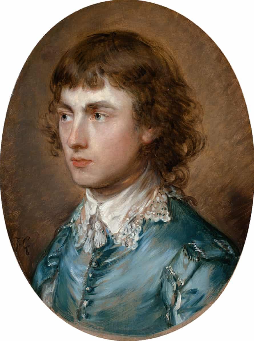 Gainsborough Dupont, the Artist's Nephew by Thomas Gainsborough, 1773.