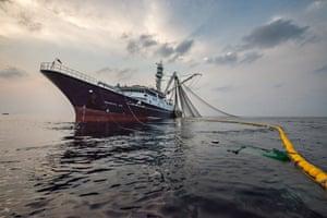 Oriental Kim, Senegal flagged vessel fishing for tuna
