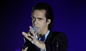 Nick Cave, who has defended his decision to perform in Israel.