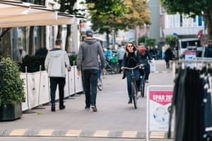 Vestergade, a main street in Odense.