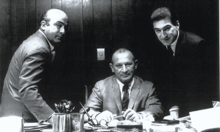 Have they got blues for you: Leonard, Phil and Marshall Chess Photograph: Chess Family Archive