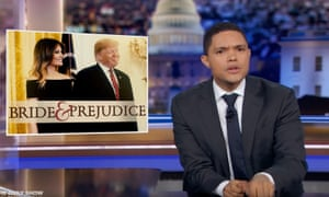 Trevor Noah on Trump's immigration crackdown: 'I think Donald Trump is trying to deport Melania.'