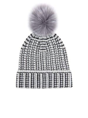 £118, by Diane Von Furstenberg from matchesfashion.com.jpg Pompom beanie hat