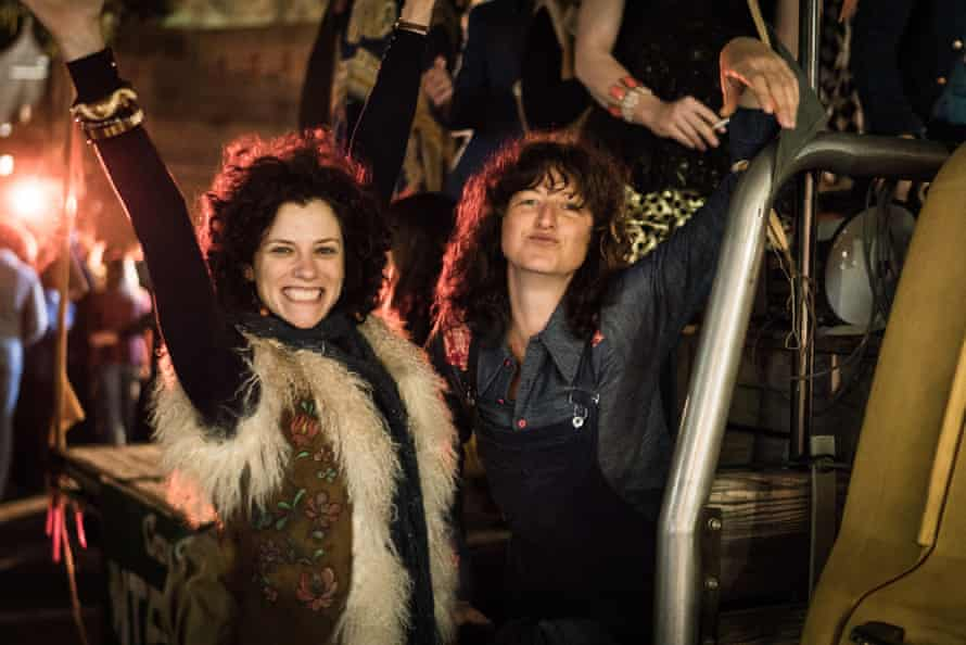 The ABC TV miniseries Riot won best telefeature or miniseries, best lead actor for Damon Herriman and best actress in a TV drama for Kate Box, right