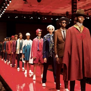 HighlightBespoke Couture designer Ozwald Boateng's highly anticipated show didn't disappoint, showcasing a mix of tailoring, styled with a modern twist