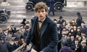 Spin doctor: Eddie Redmayne in Fantastic Beasts and Where to Find Them.