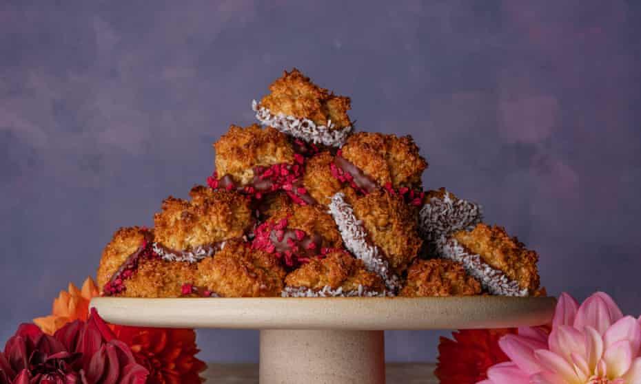 Coconut tops Nadine Levy Redzepi 20 best biscuits supplement Observer Food Monthly OFM