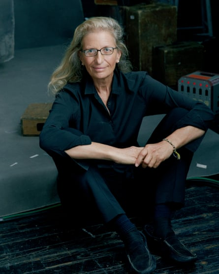 'You have to be insane, obsessed. You have to live it and eat it' … Leibovitz's big tip for photographers.