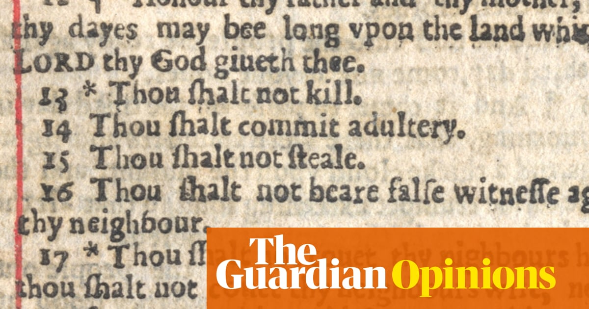 The 10 worst typos in the Bible | Opinion | The Guardian
