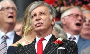 Stan Kroenke, majority shareholder in Arsenal