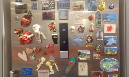 Kirstie McLachlan's fridge
