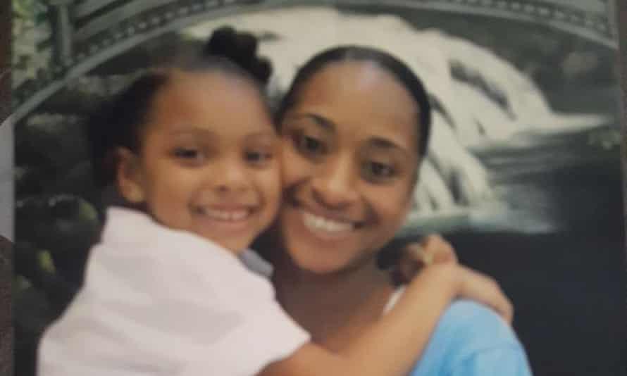 Tomiekia Johnson with her daughter Nevaeh.