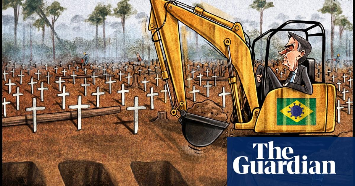 Ben Jennings on Bolsonaro's handling of the Covid pandemic in Brazil– cartoon