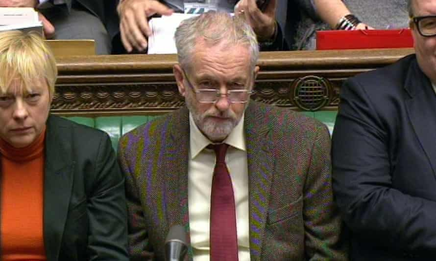 Jeremy Corbyn is leader of a major political party. How about he thinks up his own questions?