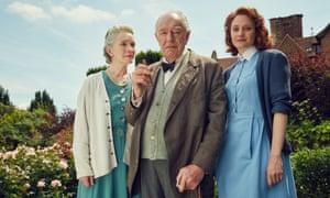 Churchill's Secret ... Lindsay Duncan as Clementine Churchill, Michael Gambon as Winston, and Romola Garai as Millie Appleyard.