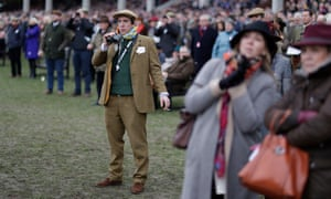 One punter at the Cheltenham Festival wonders where the next winner is coming from.