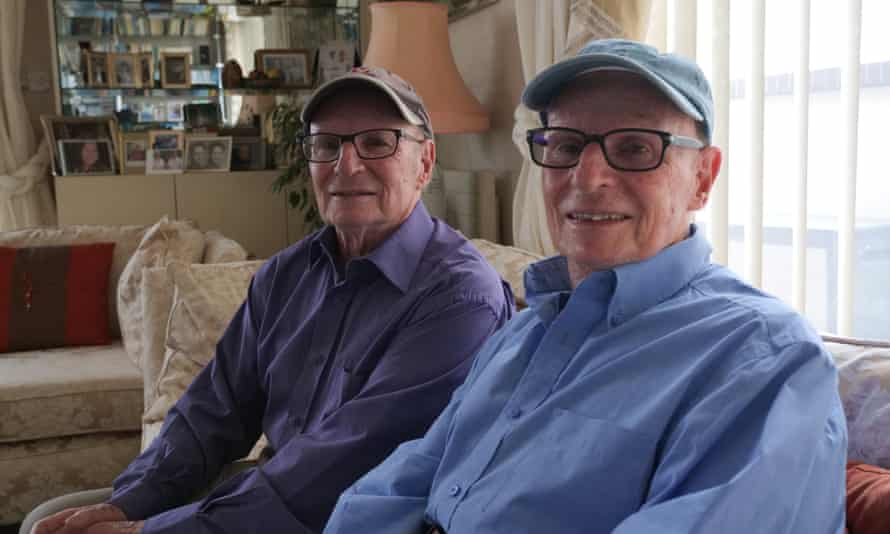 Twin brothers George and Peter.
