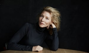 Swoon: Cate Blanchett, appearing in When We Have Sufficiently Tortured Each Other .