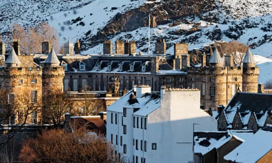 Ivory Tower? Holyrood Palace, Edinburgh, Scotland.