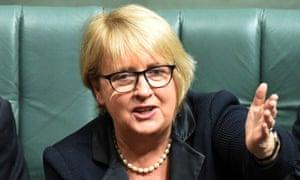 Jenny Macklin in parliament