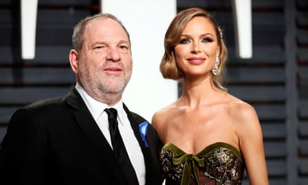 Georgina Chapman and Harvey Weinstein