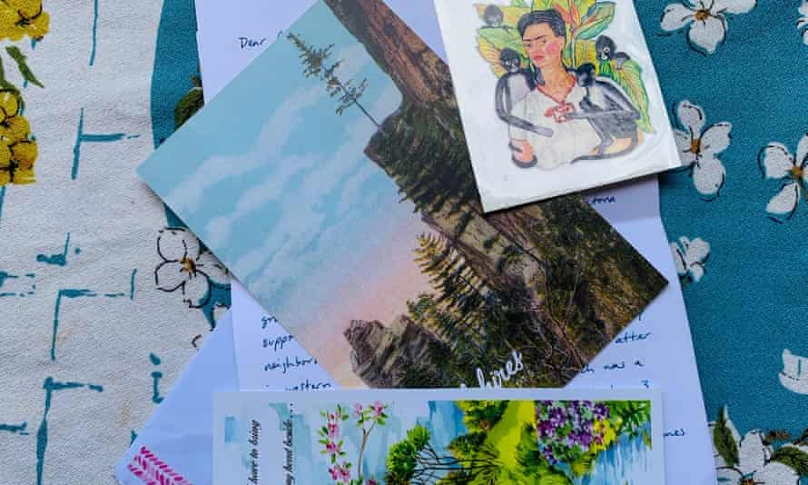 Collections of postcards and letters