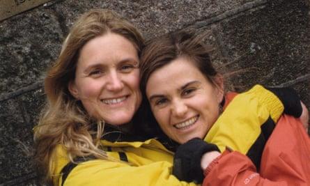 Sisters Kim Leadbeater and Jo Cox.