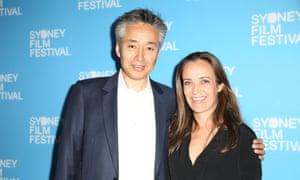 Norbu Tenzing and Jennifer Peedom at the Sydney film festival.